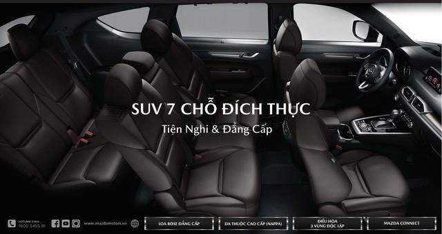 Xôn xao giá 'gốc' và thông số kỹ thuật 3 phiên bản Mazda CX-8 tại Việt Nam trước giờ G - Ảnh 3.