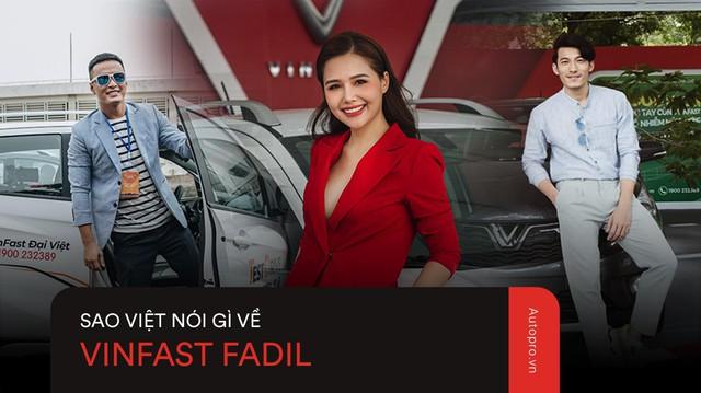 VinFast Fadil 'đốn tim' sao Việt ở những điểm này ngay trong lần trải nghiệm đầu tiên