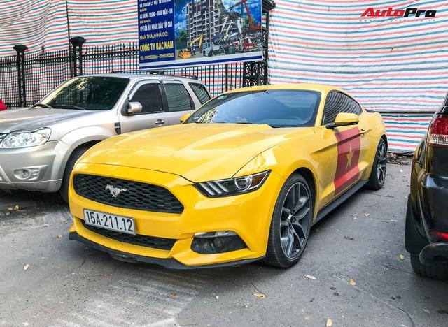 Ford Mustang Ecoboost từng tai nạn đến nát đầu của dân chơi Hải Phòng giờ ra sao? - Ảnh 1.