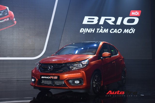Ra mắt Honda Brio giá từ 418 triệu đồng, phả hơi nóng lên VinFast Fadil - Ảnh 1.
