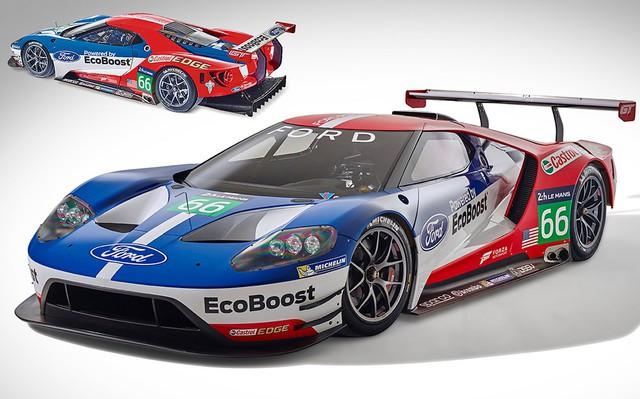 Chạy theo tiếng gọi của Toyota và Aston Martin, Ford hé lộ siêu xe GT đua mới - Ảnh 2.
