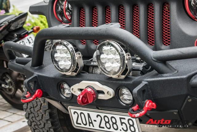 Khám phá hàng khủng Jeep Wrangler độ tất tay của đại gia Thái Nguyên - Ảnh 13.