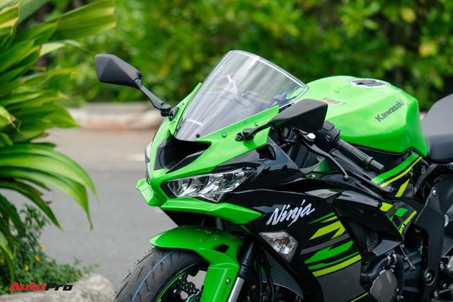 Kawasaki Ninja ZX-6R 2019 nhập khẩu tư nhân đầu tiên về Việt Nam, giá không dưới 300 triệu đồng - Ảnh 2.