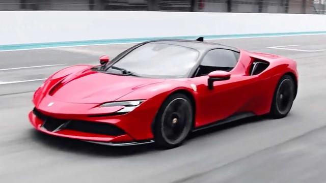 Ferrari lý giải trái tim của dòng xe mạnh mẽ nhất từng sản xuất SF90 Stradale - Ảnh 1.