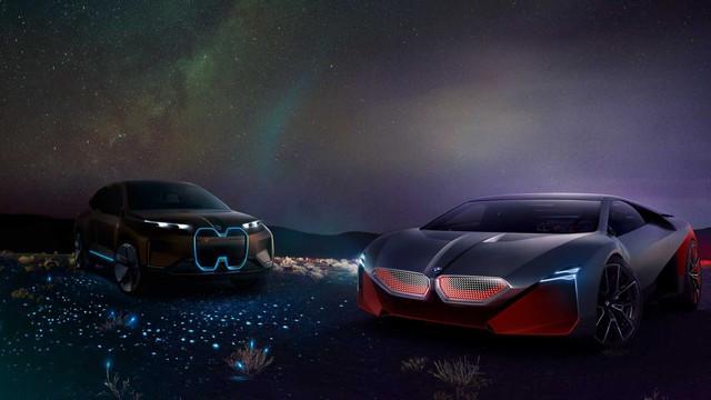 BMW i8 đã có người kế nhiệm: Vision M Next, thiết kế siêu ấn tượng, 600 mã lực - Ảnh 9.