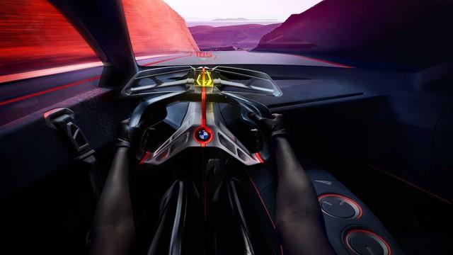 BMW i8 đã có người kế nhiệm: Vision M Next, thiết kế siêu ấn tượng, 600 mã lực - Ảnh 8.