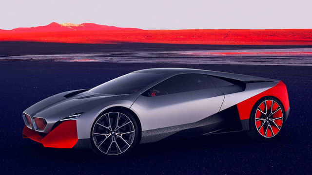 BMW i8 đã có người kế nhiệm: Vision M Next, thiết kế siêu ấn tượng, 600 mã lực - Ảnh 1.