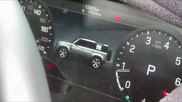 Chỉ một bức ảnh duy nhất, nội ngoại thất Land Rover Defender lộ diện cùng lúc - Ảnh 1.