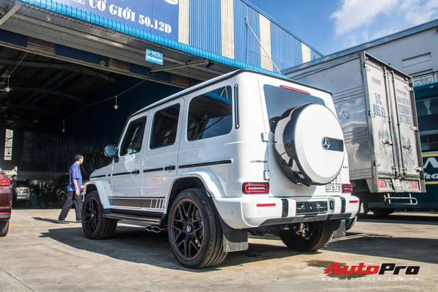 Mercedes-AMG G63 Edition 1 của doanh nhân Phạm Trần Nhật Minh chính thức có biển số - Ảnh 3.