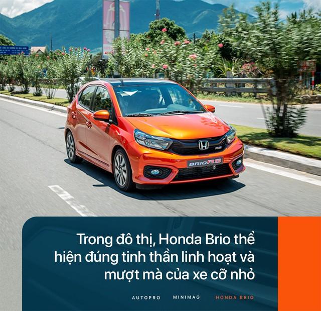 Đánh giá Honda Brio - Xe nhỏ nhưng không 'cỏ' - Ảnh 8.
