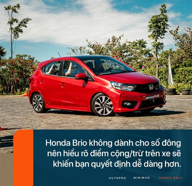 Đánh giá Honda Brio - Xe nhỏ nhưng không 'cỏ' - Ảnh 10.