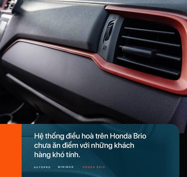 Đánh giá Honda Brio - Xe nhỏ nhưng không 'cỏ' - Ảnh 6.