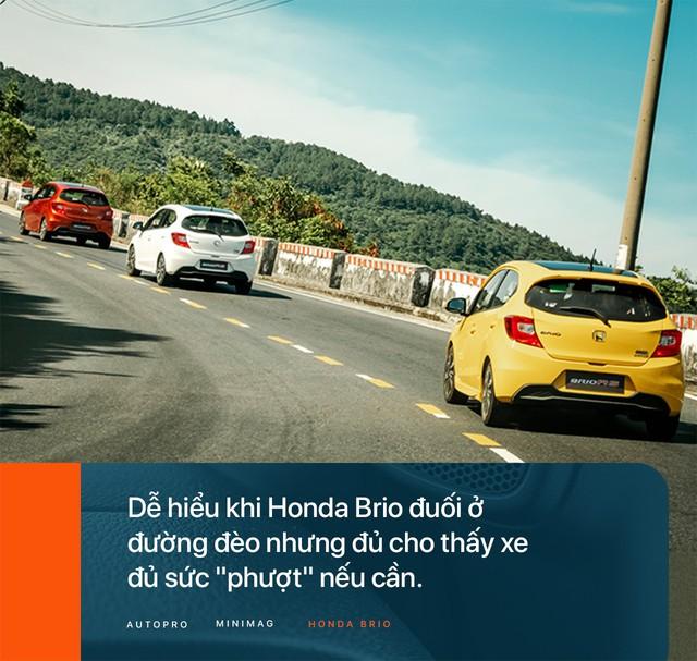 Đánh giá Honda Brio - Xe nhỏ nhưng không 'cỏ' - Ảnh 9.