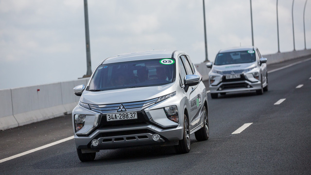 Sử dụng như bình thường, Mitsubishi Xpander tiêu hao 5,06 lít/100km trên đường hỗn hợp tại Việt Nam