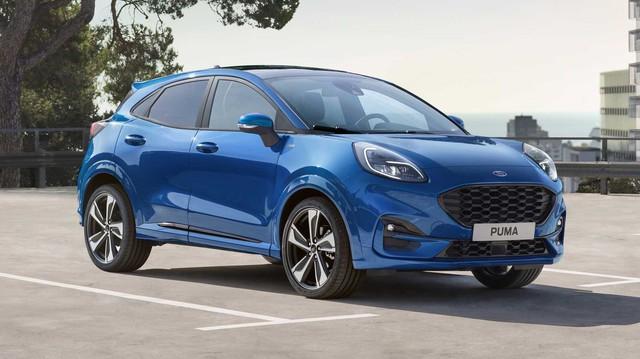 Ra mắt Ford Puma - SUV đàn em EcoSport bạt ngàn công nghệ