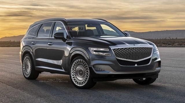 Loạt SUV của Genesis lên lịch trình làng, hoàn thiện đội hình đấu Mercedes, BMW và Audi