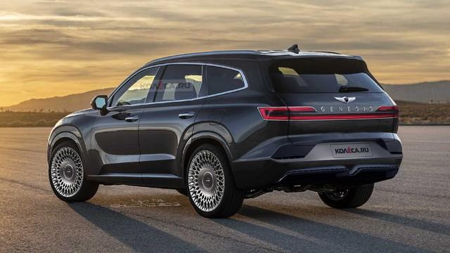 Loạt SUV của Genesis lên lịch trình làng, hoàn thiện đội hình đấu Mercedes, BMW và Audi - Ảnh 1.