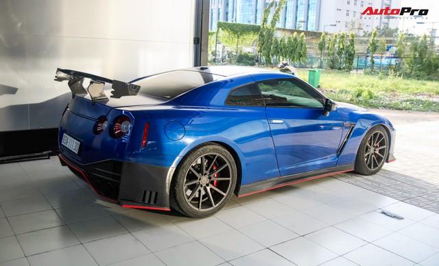 Chưa hài lòng với ngoại hình hiện tại, dân chơi Bình Phước độ Nissan GT-R thành phiên bản hiệu suất cao Nismo - Ảnh 6.