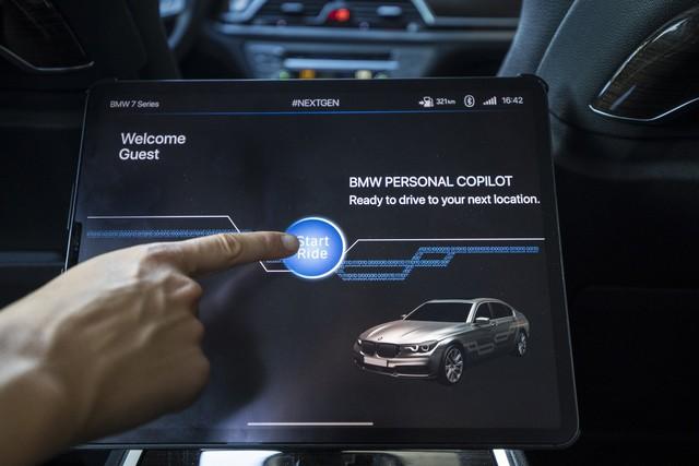 Dùng thử công nghệ tự lái trên BMW 7-Series 2020 - Ảnh 4.
