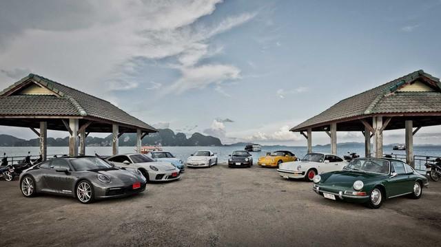 'Car Passion' phiên bản 8 thế hệ Porsche 911 tổ chức tại Thái Lan, chào mừng thế hệ mới sắp ra mắt