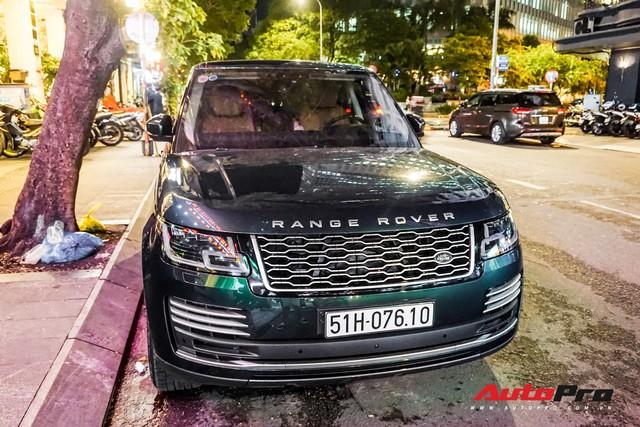 Range Rover Autobiography 2019 màu độc rực rỡ trên đường phố Sài Gòn - Ảnh 5.