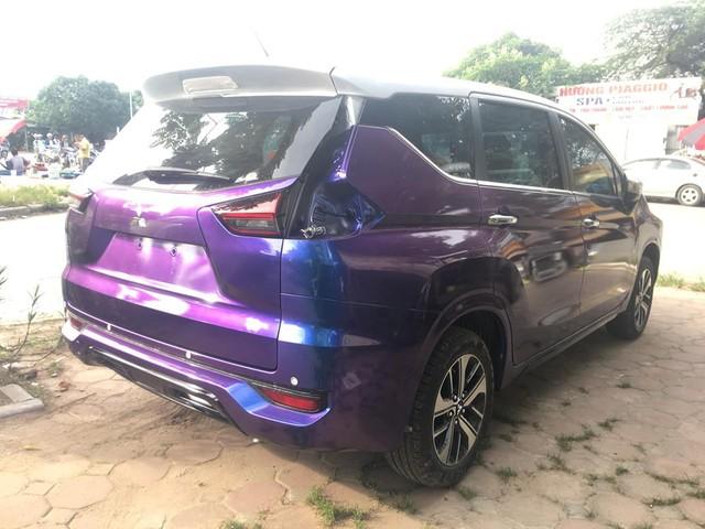 Vừa mua Mitsubishi Xpander, chủ xe đã tháo tung, sơn lại màu tắc kè hoa đầu tiên Việt Nam - Ảnh 7.