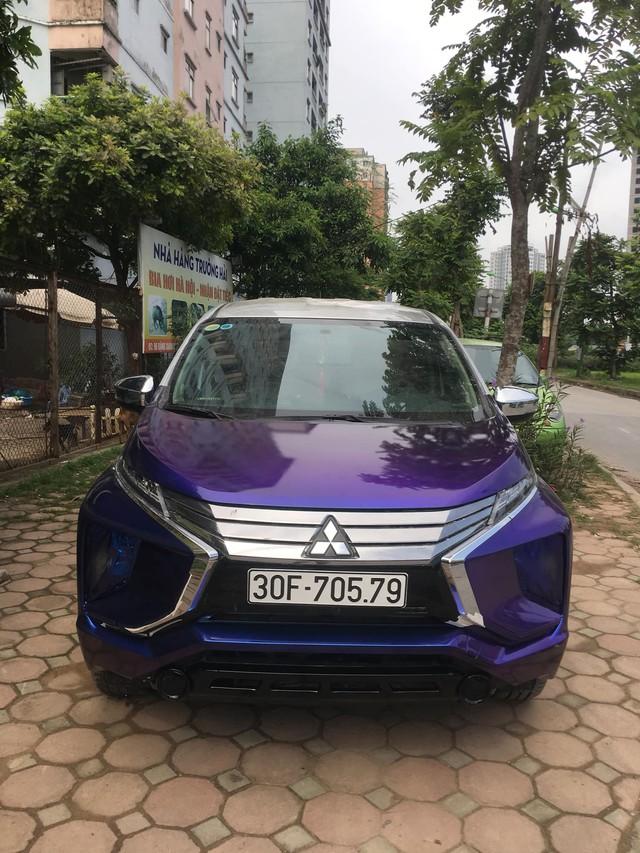 Vừa mua Mitsubishi Xpander, chủ xe đã tháo tung, sơn lại màu tắc kè hoa đầu tiên Việt Nam - Ảnh 4.