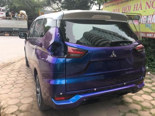 Vừa mua Mitsubishi Xpander, chủ xe đã tháo tung, sơn lại màu tắc kè hoa đầu tiên Việt Nam - Ảnh 6.