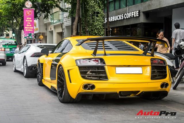 Chiêm ngưỡng vẻ đẹp Audi R8 độ Prior Design độc nhất Việt Nam vừa thay áo mới, một chi tiết độ đắt giá đã bị gỡ bỏ - Ảnh 6.
