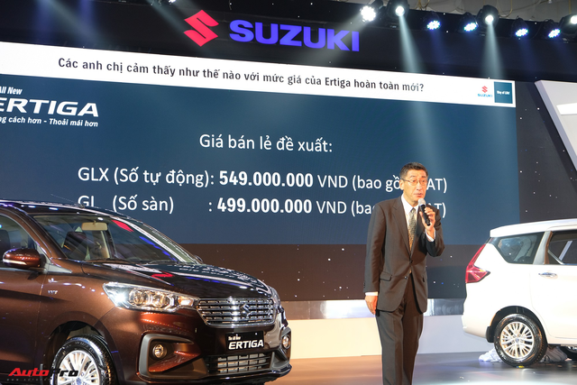 Suzuki Ertiga 2019 chính thức ra mắt thị trường Việt với giá từ 499 triệu đồng: Kỳ vọng bán 1.000 xe/tháng, có tính đến chuyện lắp ráp - Ảnh 2.