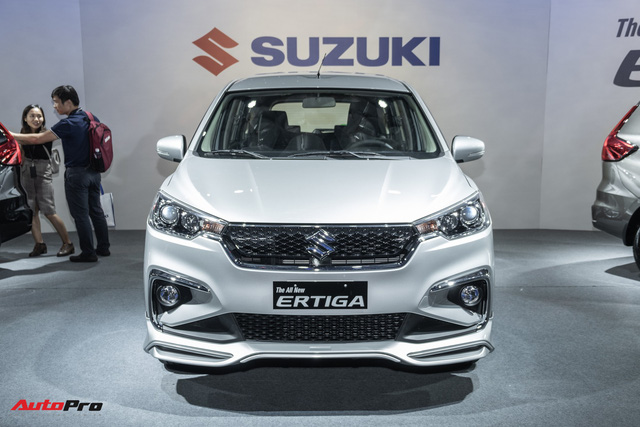 Khám phá chi tiết Suzuki Ertiga 2019 - Xe 7 chỗ rẻ nhất Việt Nam vừa ra mắt - Ảnh 1.