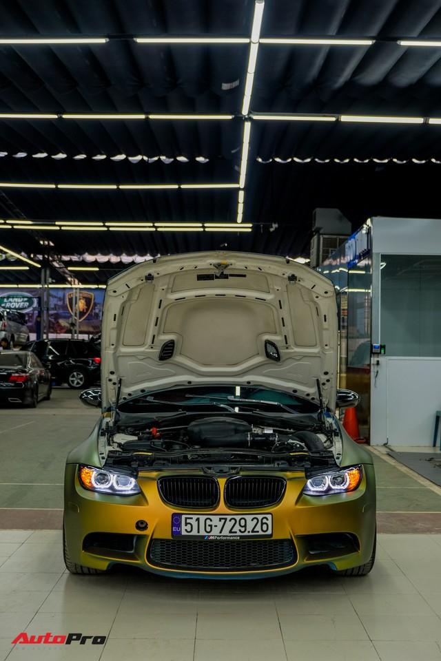 Vào xưởng độ Sài Gòn khám phá BMW M3 E93 Convertible tăng 100 mã lực đầu tiên Việt Nam - Ảnh 3.