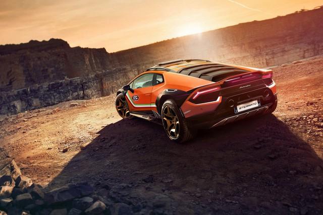 Lamborghini chuẩn bị đưa Huracan đa địa hình vào sản xuất - Ảnh 2.