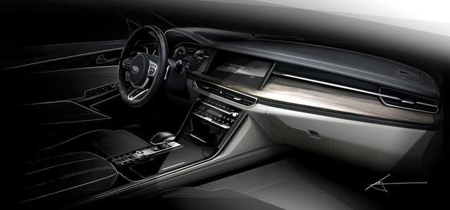 Kia bất ngờ tung trailer cho Cadenza/K7 facelift - Ảnh 4.