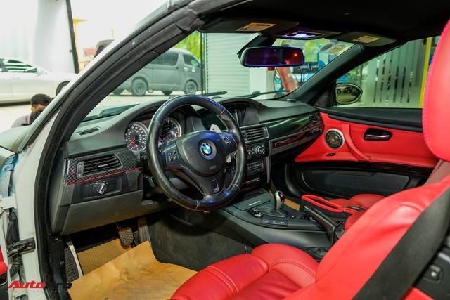 Vào xưởng độ Sài Gòn khám phá BMW M3 E93 Convertible tăng 100 mã lực đầu tiên Việt Nam - Ảnh 13.