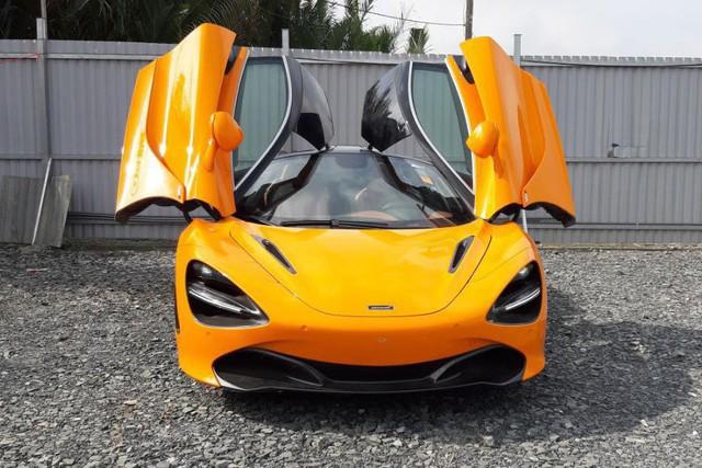 Cường đô-la mang siêu xe McLaren 720S vừa tậu tham gia Car Passion 2019 - Ảnh 1.