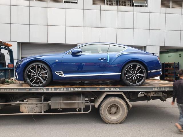 Bentley Continental GT thế hệ mới thứ 2 về Việt Nam với màu sơn dễ gây hoang mang - Ảnh 2.