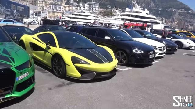 Dàn siêu xe toàn hàng 'khủng' bị cảnh sát Monaco tịch thu làm người nhìn phát thèm