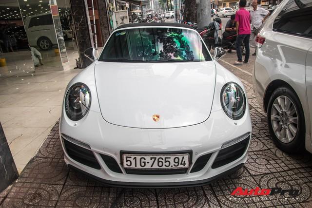 Porsche 911 Targa 4 GTS độc nhất Việt Nam ra biển số trắng Sài Gòn - Ảnh 2.