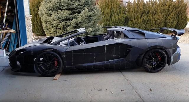 2 cha con tự in 3D Lamborghini Aventador với động cơ Corvette - Ảnh 5.
