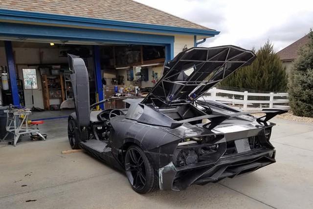 2 cha con tự in 3D Lamborghini Aventador với động cơ Corvette - Ảnh 4.
