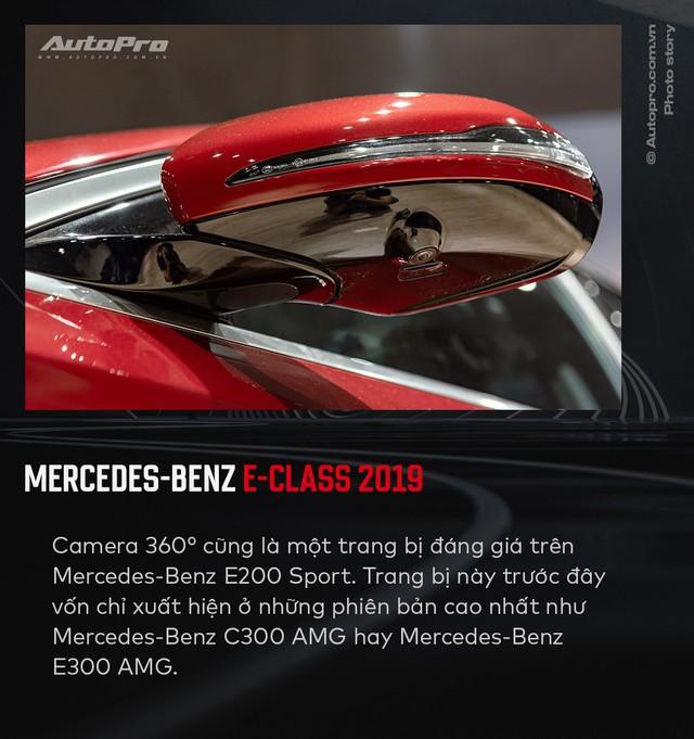10 điểm mới không thể bỏ qua trên Mercedes-Benz E-Class 2019 vừa ra mắt Việt Nam - Ảnh 7.