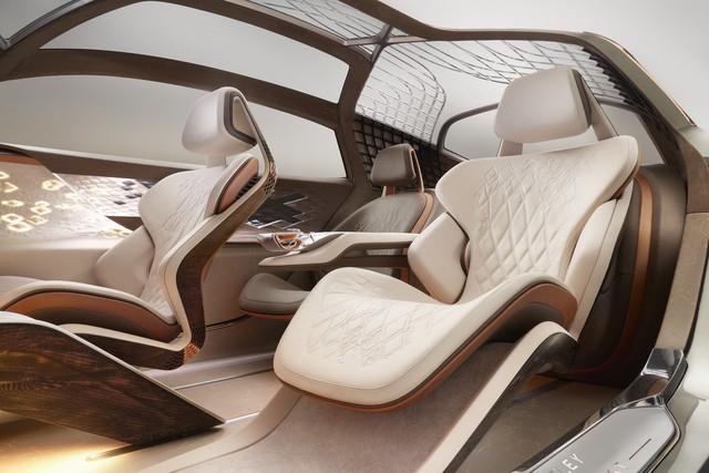 Ra mắt Bentley EXP 100 GT - Nền móng mới cho thời kỳ huy hoàng của xe siêu sang  - Ảnh 8.
