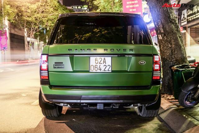 Range Rover LWB Autobiography của dân chơi Long An độ mâm hàng hiệu, dán màu quân đội khiến nhiều người tưởng là của ông Đặng Lê Nguyên Vũ - Ảnh 4.