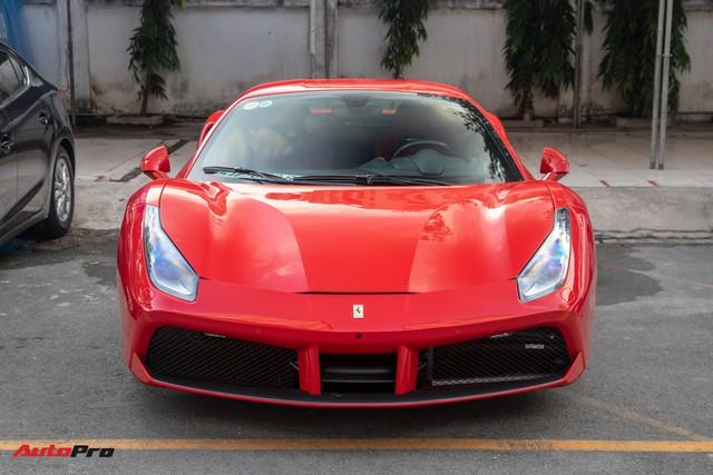 Ferrari 488 GTB của Tuấn Hưng hồi sinh, xuất hiện trên phố với diện mạo lạ lẫm - Ảnh 3.