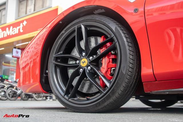 Ferrari 488 GTB của Tuấn Hưng hồi sinh, xuất hiện trên phố với diện mạo lạ lẫm - Ảnh 2.