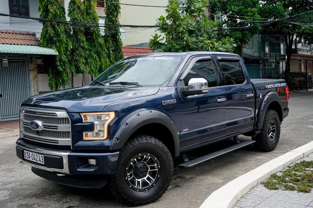 Dùng Ford F150 Platinum 4 năm không off-road, chủ xe bán lại với giá đủ mua 2 chiếc Ranger Raptor