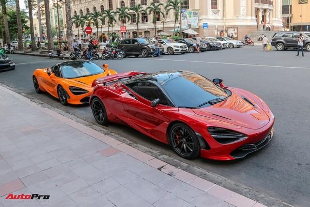 Cường Đô-la lần đầu mang McLaren 720S mới tậu đi họp mặt cùng bạn bè - Ảnh 1.