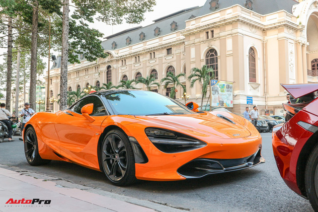 Cường Đô-la lần đầu mang McLaren 720S mới tậu đi họp mặt cùng bạn bè - Ảnh 3.
