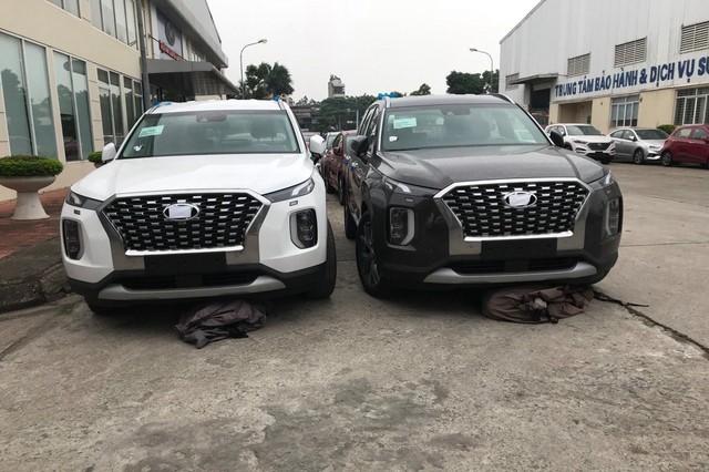 Lộ động cơ Hyundai Palisade tại Việt Nam và giá tính trước bạ 1,87 tỷ đồng - Ảnh 1.